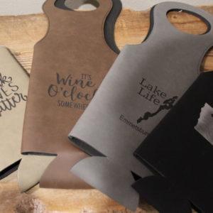 Custom Wine Bags – 4 color options!