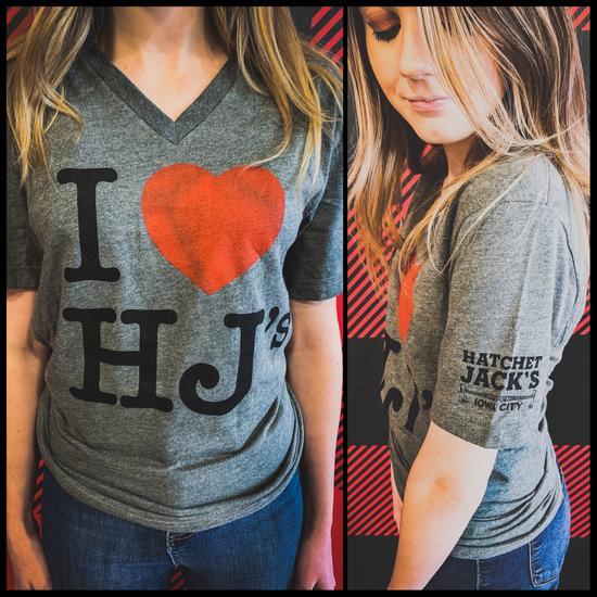 HJ's, Hatchet Jack's, Axe throwing shirt