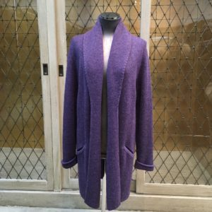 Alpaca cardigan sweater