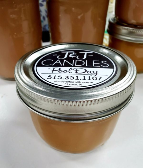 J&J Candles – 2 Sizes – 150 Scent Choices