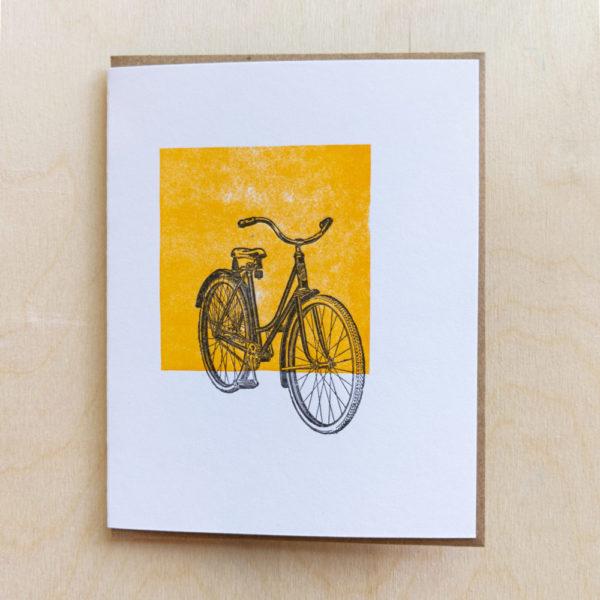 Photo of Vintage Bicycle Greeting Card on shopiowa.com