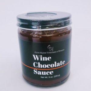 Wine Chocolate Sauce