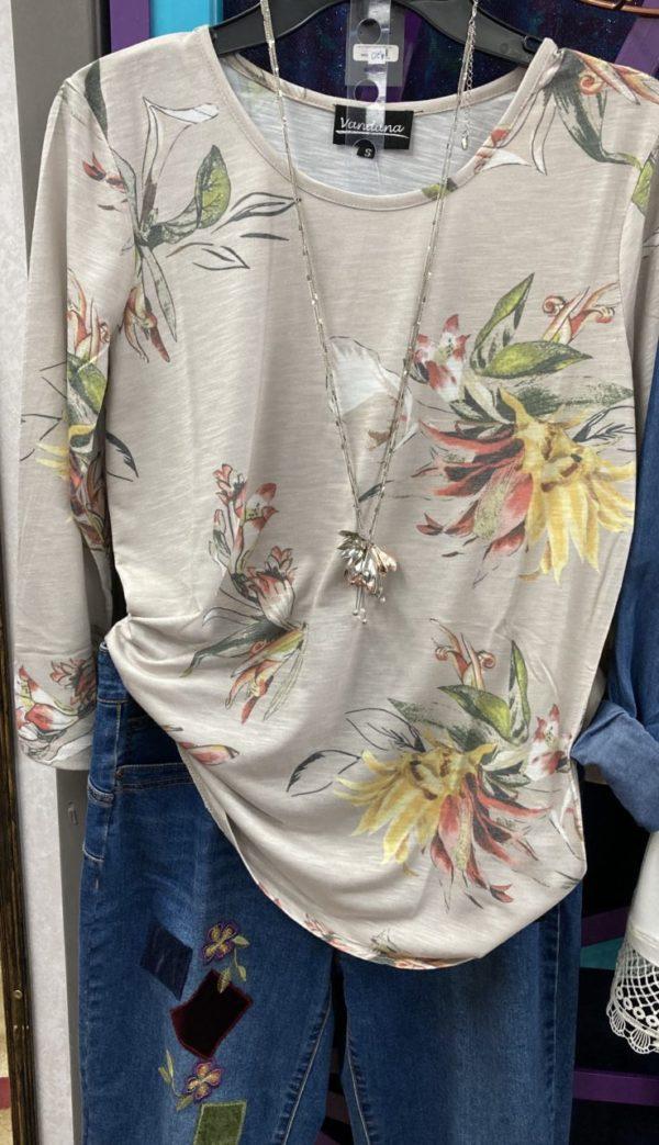 Soft Floral print Tunic