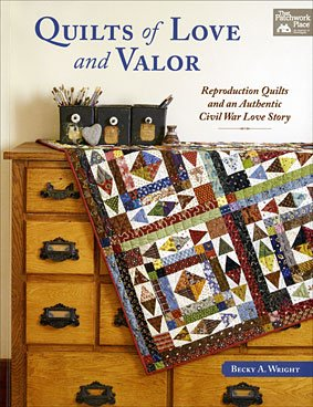 photo of Quilts of Love and Valor Book on shopiowa.com