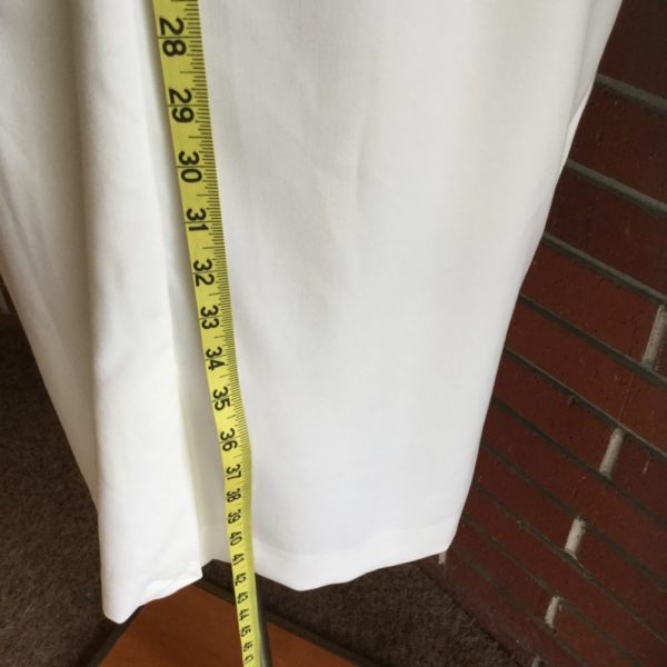 Ashro 2-Piece White Summer Dress Size 14