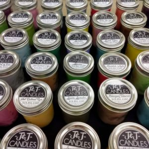 JJ Candles Candle ScentsManson Iowa