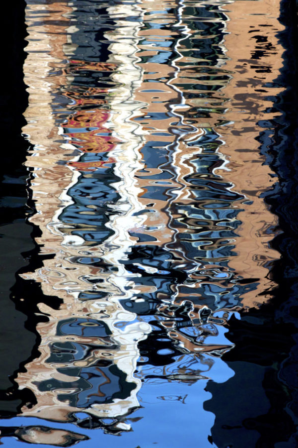 Abstract Reflections – Matted Framed Print