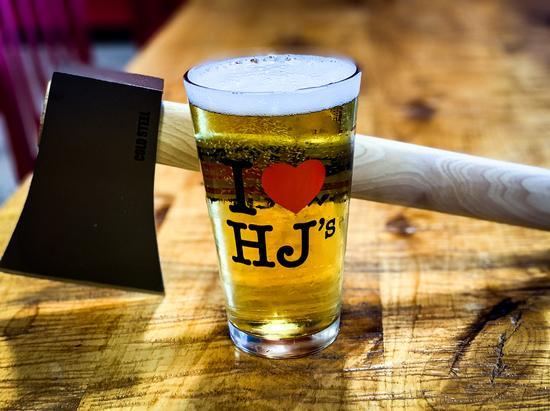 I ❤ HJ's Pint Glass