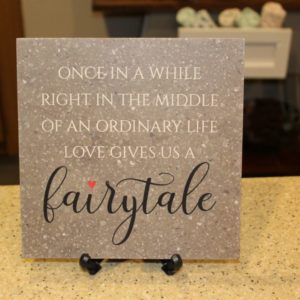 Love Gives Us a Fairytale Corian Tile