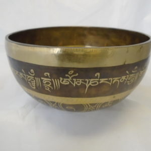 Tibetan Singing Bowl with Mallet – All Around Design