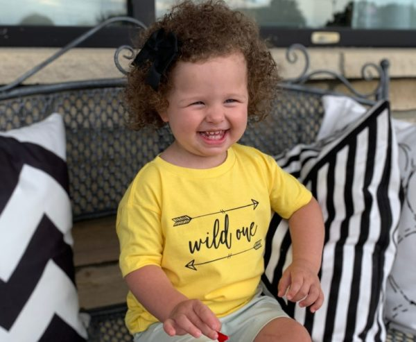 Graphic Onesie and Toddler Tee