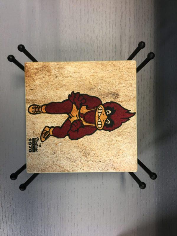 Iowa State University Hardboard & Sandstone Coasters