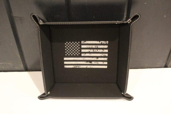 Laserable Leatherette Trays