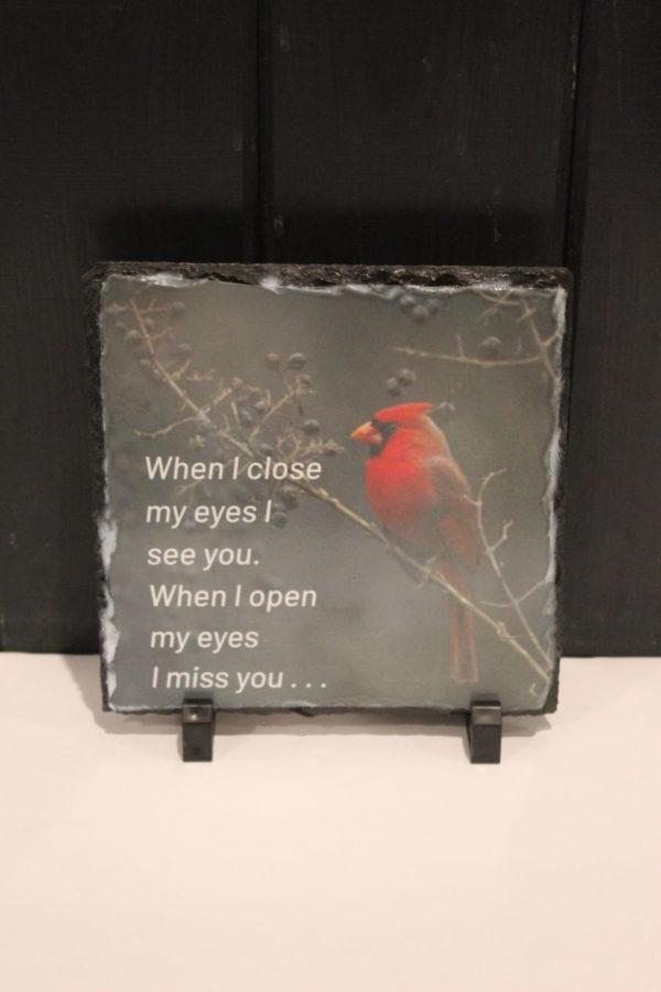 Cardinal Memorial Slate