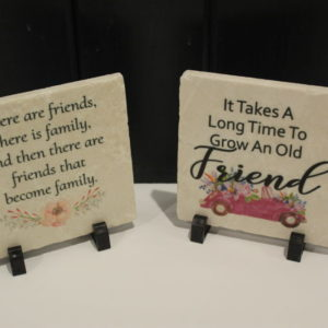 Friendship Quote 6 X 6 Tiles