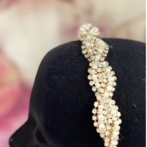 photo of Gold, Silver & Pearl Headband E516SL on shopiowa.com