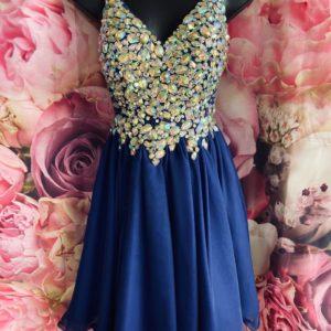 Blush Designs Homecoming Dress 9857