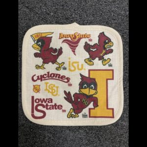 Photo of Iowa State University pot holder on shopiowa.com