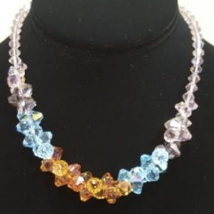 Swarovski Color Graded Necklace on shopiowa.com