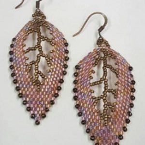 Russian Leaf Earrings on shopiowa.com