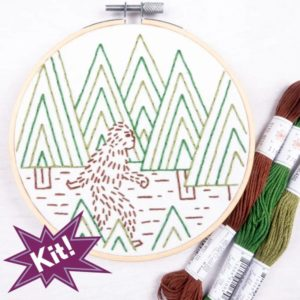 "Sasquatch 5"" Embroidery Kit"