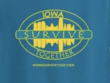 Iowa Survive Together T-shirt