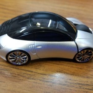 Silver Car Mouse on shopiowa.com