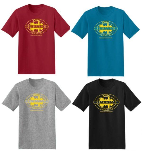 Iowa Survive Together t-shirt on shopiowa.com