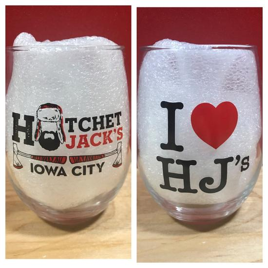 Hatchet Jack's Stemless Wine Glass