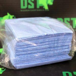 1/4 Fold Blue Heavy Duty DRC Wipers