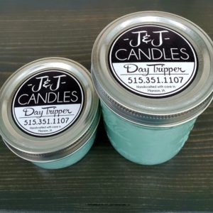 JJ Candles Candle Sizes Manson Iowa