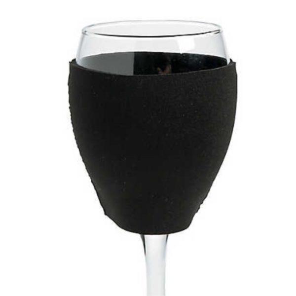 Wine Glass Coozie
