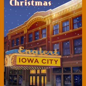 Iowa City's Englert Theatre Christmas Ornament by Norman Stiff