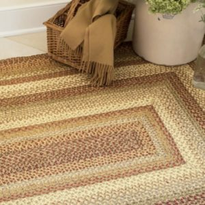 Braided Jute Rug on shopiowa.com