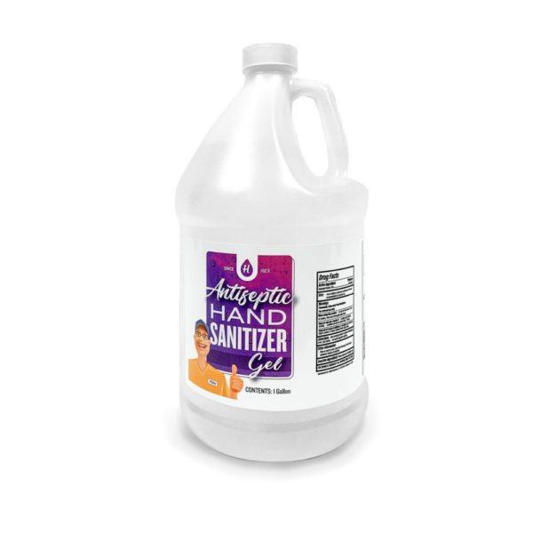 Antiseptic Hand Sanitizer – Case of 1 Gallon Bottles