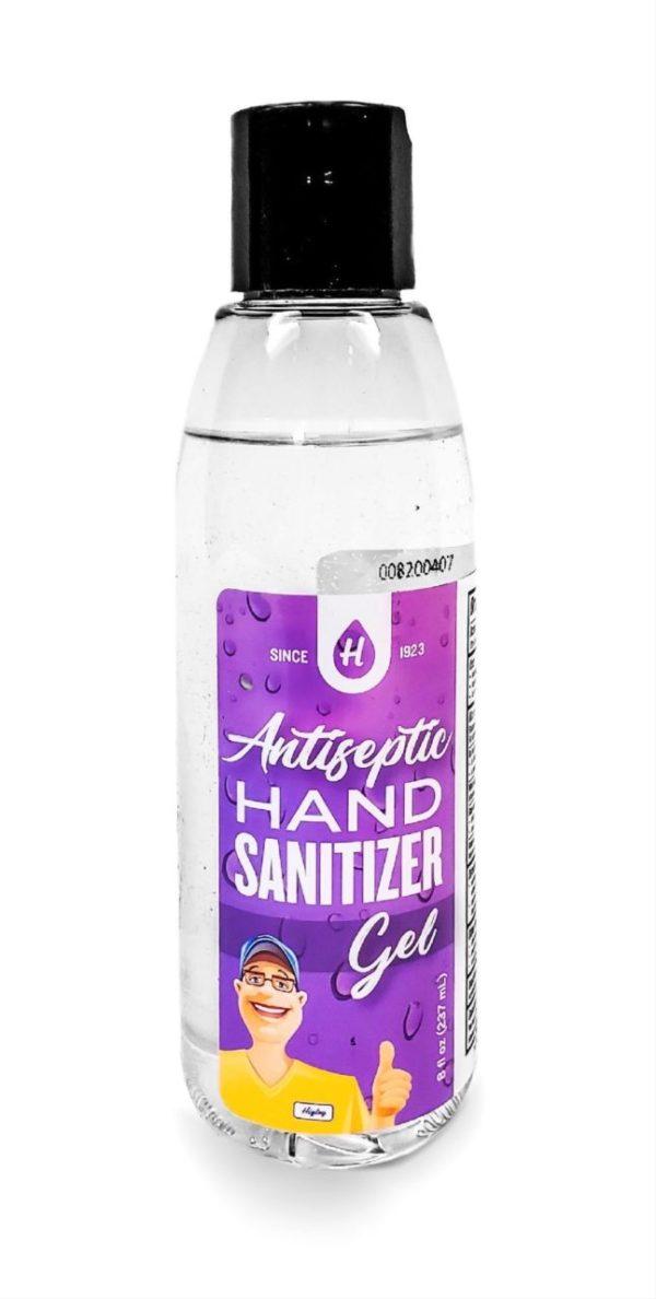 Antiseptic Hand Sanitizer Gel – Case of 8 oz. Bottles