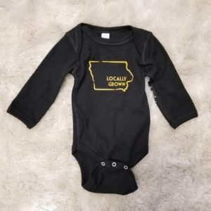 Iowa Locally Grown Onesie