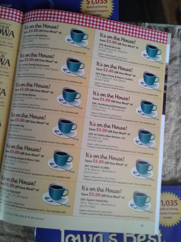 Iowa's Best Ma & Pa Restaurants Directory