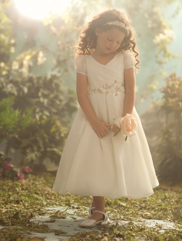 Alfred Angelo 706 Sleeping Beauty Flower Girl Dress