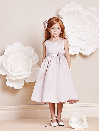 Alfred Angelo 6672 Eggplant & Lilac Flower Girl Dress