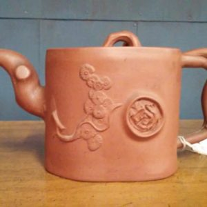 One of a Kind Japanese Clay Teapot