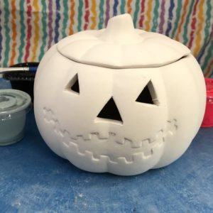Ceramic Pumpkin Box Art To Go Kit