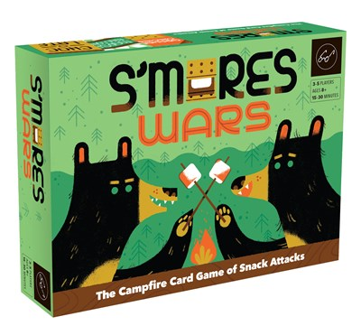 S'mores Wars, campfire game of snack attacks