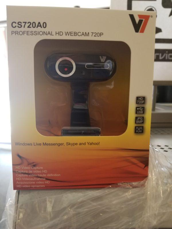 V7 Professional HD Webcam CS720A0