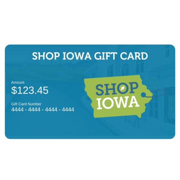 Shop Iowa Online Gift Card