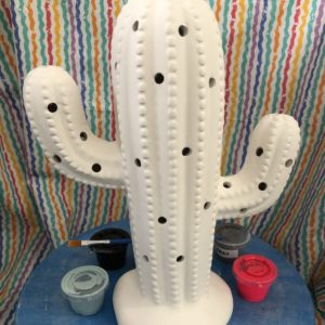 Large Ceramic Cactus Tree
