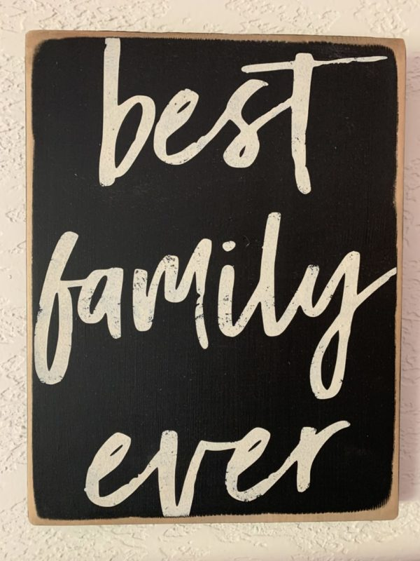 Family Rustic Sign