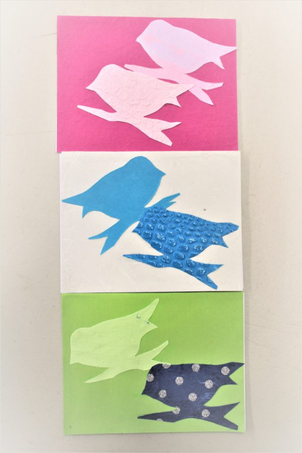 Handmade Greeting Cards -Sets of 3