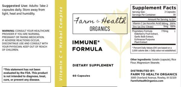 Vitamin C & Herbal Complex: Immune Formula
