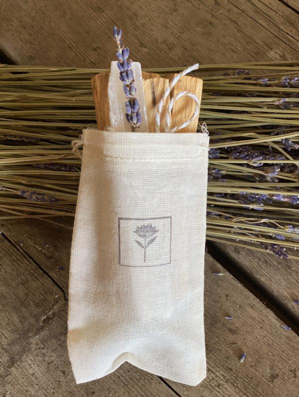 Palo Santos, Selenite & Lavender Bundle